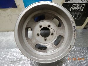 Vintage 15x8 5 Slot Mag Wheel 5 On 5 Chevy Van Truck Ford Chevy Full Size Cars