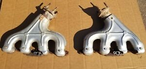 2001 04 C5 Corvette Ls1 Ls6 Z06 Exhaust Manifolds Oem W shields Great Condition