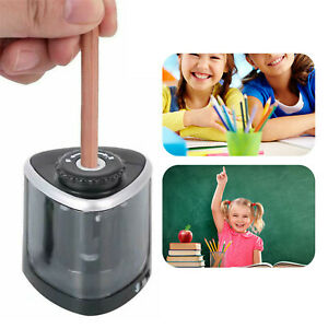 Electric Pencil Sharpener Automatic Touch Switch School Office Classroom Kids Us