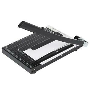 12 Inch Paper Cutter A4 Paper Trimmer Heavy Duty Photo Guillotine Craft Machine