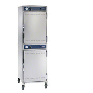 Alto shaam 1000 up qs Halo Heat Low Temperature Hot Holding Double Cabinet