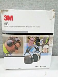 Peltor X5a Over the head Ear Muffs Noise Protection Nrr 31 Db Construction