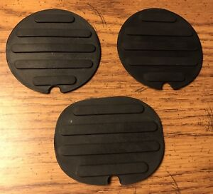 Ford Edge Explorer Mkx Center Console Cup Holder Mat Oem Set Of 3