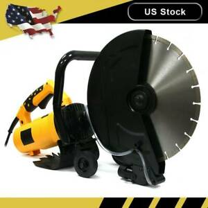 3200w Electric 14 Circular Concrete Cut Off Saw Cutter Wet Dry Masonry Brick