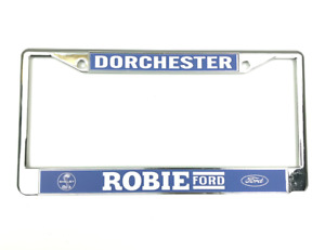 Robie Ford License Plate Frame Reproduction Ford Performance Dealer