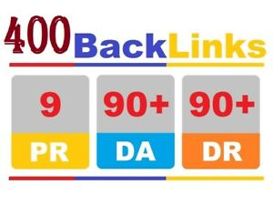 400 Backlinks Manually Backlink High Authority Ranking Website Seo Google Page
