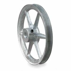 Congress Ca1200x087kw 7 8 Fixed Bore 1 Groove Standard V belt Pulley 12 00 Od
