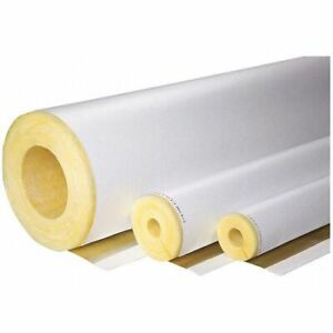 Johns Manville 692378 1 1 2 X 3 Ft Pipe Insulation 1 Wall