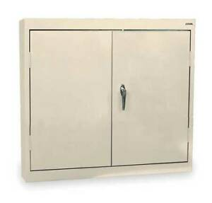 Sandusky Wa21301230 07 Wall Mount Cabinet Welded Beige