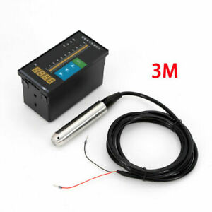 4 20 Ma Submersible Water Level Transmitter Level Sensor 3 6 10m With Cable 110v