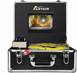 Pipe Pipeline Inspection Camera 50m 165ft Cable Drain Sewer Industrial 165ft