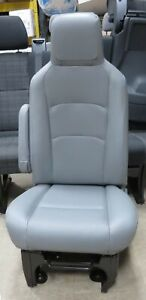 08 20 Ford Econoline Van Gray Vinyl Manual Lh Driver Side Bucket Seat