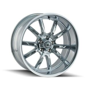 Cpp Ridler 650 Wheels 15x8 Fits Ford Mustang Falcon Galaxie