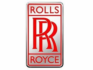 Car Radiator Rr Logo Emblem Badge Silver Red Color For Rolls Royce