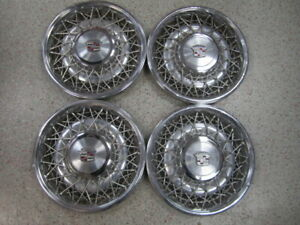 Set Of 4 1975 1982 15 Rwd Cadillac Fleetwood Brougham Wire Wheel Cover 2017