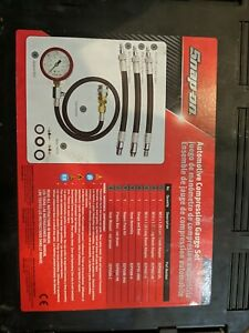 Snap On Automotive And Motorcycle Compression Gauge Set Eepv500