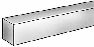 Zoro Select 6all5 Square Bar aluminum 6063 1 X 1 In 8 Ft