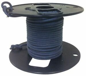 Rowe R800 2522 0 50 Silicone Lead Wire hv 22awg 25kvdc 50ft