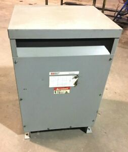 Fpt T4t45 45 Kva 480 X 120 208 Volt 3 Phase 4 Wire Transformer