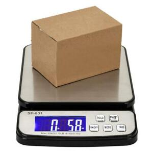 110 Lb X0 1oz Digital Postal Shipping Scale Weight Postage Kitchen Counting 50kg