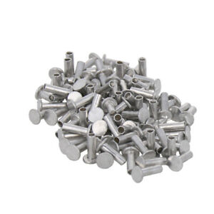 2 2 5 3mm Aluminum Countersunk Flat Head Rivet Nut Insert Rivets Semi tubular