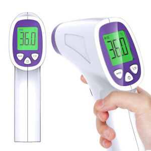 Handheld Digital Lcd Infrared Thermometer Non contact Forehead Temperature Gun