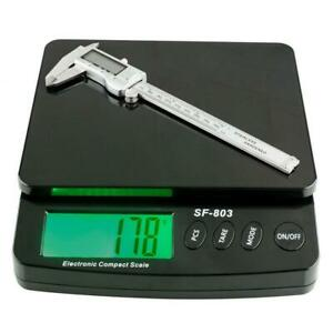 Portable 66lb X 0 1oz Digital Postal Shipping Scale With Counting Function black