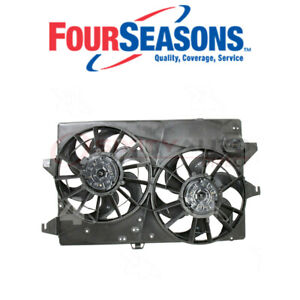 Four Seasons Dual Radiator Condenser Fan Assembly For 1995 2000 Ford Ma