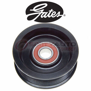 Gates Grooved Pulley Drive Belt Idler Pulley For 2007 Chevrolet Silverado Bo