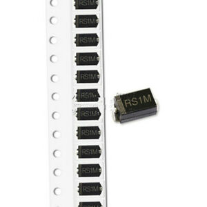 50pcs New Patch Fr107 Smd Diode Rs1m Do 214ac Fast Recovery Diode