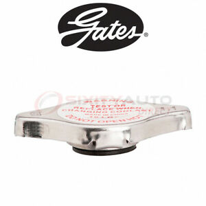 Gates Radiator Cap For 1998 2001 Chevrolet Metro 1 3l L4 1 0l L3 Zl