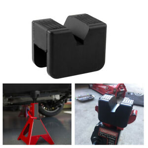 1 X Universal Slotted Frame Rail Floor Jack Lift Rubber Pad Adapter 2 3 Ton
