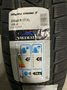 1 New 235 65 17 Vredestein Wintrac Xtreme S Snow Tire