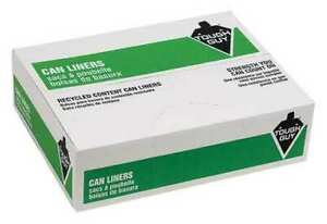 Tough Guy 38eu79 Recycled Can Liner 45 Gal Clear Pk100