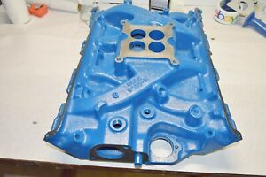 Detailed ford 390gt S Cast Iron Intake Manifold 67 Mustang Fairlane date 6h20