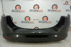 2013 2020 Ford Fusion S Oem Rear Bumper Cover Black 1038