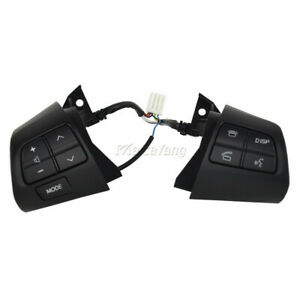 Steering Wheel Control Switch For Toyota Corolla Auris Blade Black 84250 02230