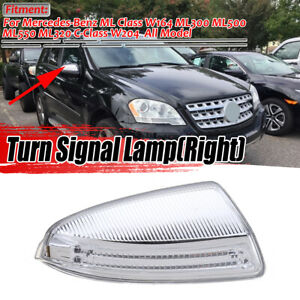 Right Side Mirror Turn Signal Light Lamp For Mercedes Benz W164 Ml C Class W204