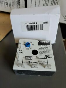 Dayton Solid State Timer 5wml9 a1 2
