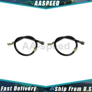 2x Rear Brake Hydraulic Hose Centric Parts For 1965 1969 Chevrolet Corvair