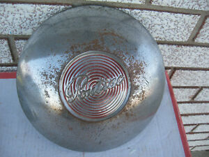1949 1950 Pontiac Chieftain Dogdish Poverty Hubcap