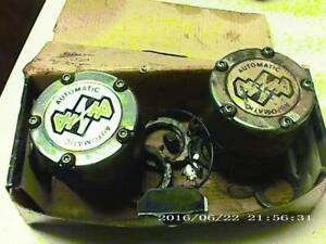 2 Ford Chevy Dodge Jeep Gm 10 Bolt Or Dana 44 Front Automatic Locking Hub