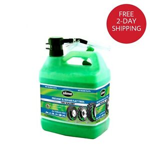 Slime Prevent And Repair Instant Tire Sealant Puncture Tubeless1 Gallon 10163