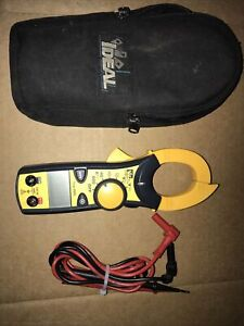 Ideal 61 746 Clamp pro 600 Amp Clamp Meter With True Rms Excellent Cond