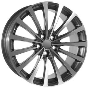 20 Inch Machined Gunmetal Replica Land Rover Wheels Rims