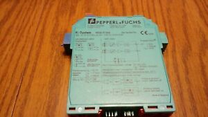 Used Pepperl Fuchs Kfd2 st ex2 36676s 2 Channel Switch Isolator