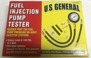 U s General Fuel Injection Pump 0 100 Psi Tester Kit 92699 New Open Box