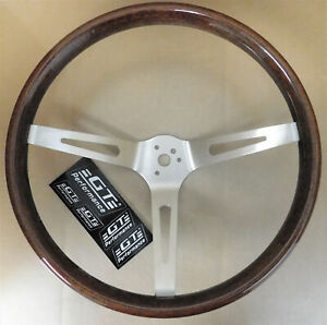 Gt Performance 36 5459 Gt3 Retro Gm Wood Steering Wheel 3 Spoke 15 Dia