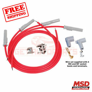 Msd Spark Plug Wire Set For Plymouth Caravelle 85 1988