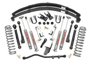 Rough Country 6 5 X series Suspension Lift Kit For Cherokee Xj 4wd 69620